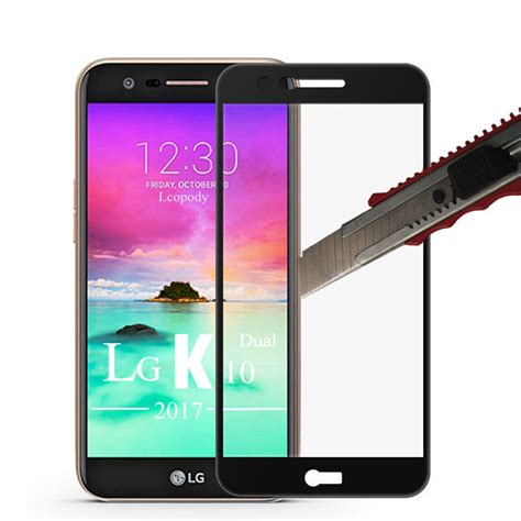 New Tempered Glass Lg K10 2017 Anti Gores Kaca Anti Shatter Scre naxtop tempered glass screen protector for lg k10 2017 free shipping dealextreme