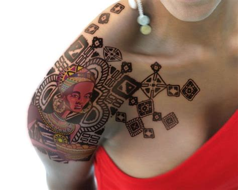 african tribal tattoos for women 15 tribal shoulder designs that will completely