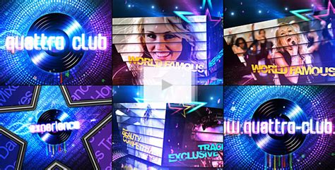 Disco Party Promo By Danimult Videohive After Effects Event Promo Templates Free