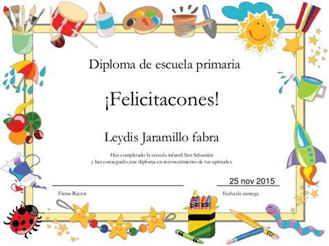 diplomas de primaria descargar diplomas de primaria diploma de escuela primaria