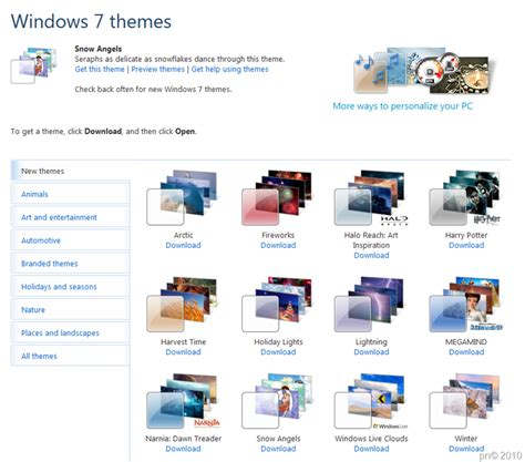microsoft themes location install a themepack on windows 7 tech talk