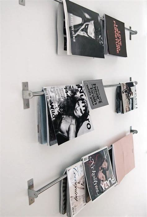 magazine layout wall wall hanging magazine rack woodworking projects plans