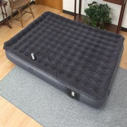 air cloud pillowtop w remote 11 inch size air bed 13693722 overstock shopping