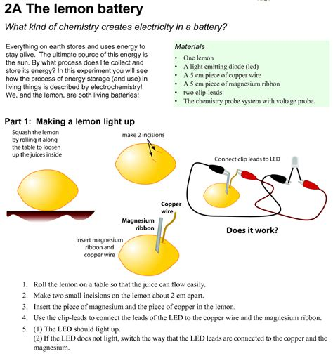 How to make Lemon Battery?   Electrical Engineering Blog