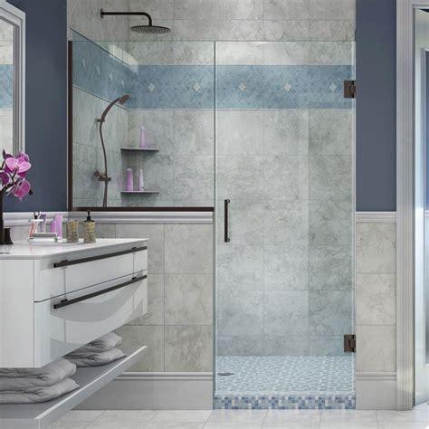 Unidoor Shower Door Dreamline Unidoor X 60 In To 60 1 2 In X 72 In Frameless Pivot Shower Door In Chrome With