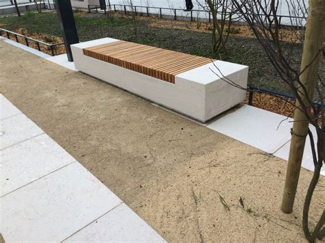 Mobilier Urbain Banc by Mobilier Urbain Am 233 Nagements Urbains