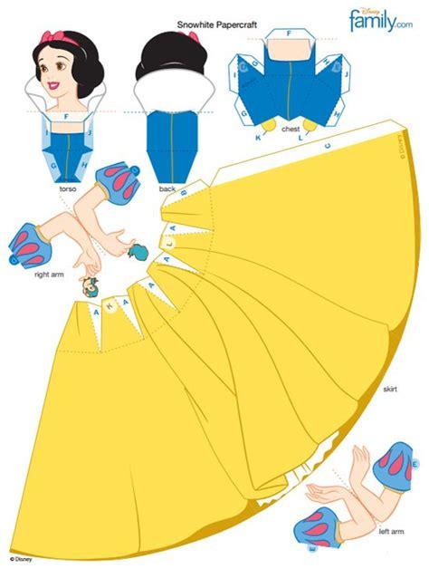 Disney Princess Papercraft Printable