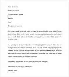business invitation letter 9 free documents in
