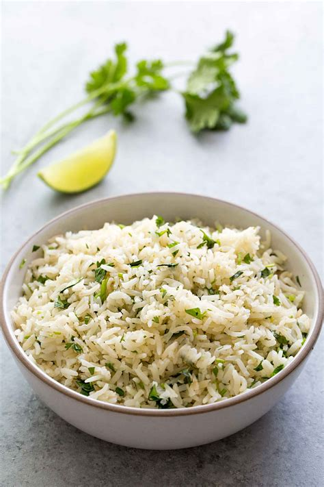 Clintro And Lime Detox Recipes by Cilantro Lime Rice Recipe Simplyrecipes
