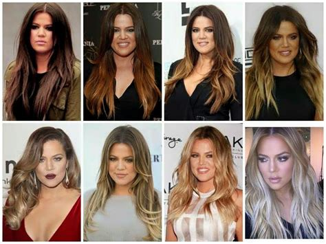 transformation brown to blonde khloe kardashian s hair transformation dark brown to