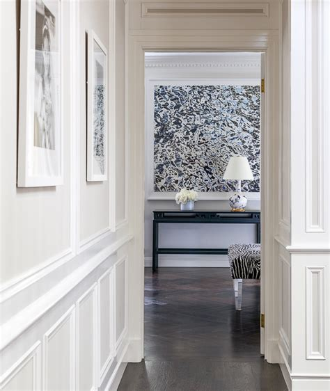 Wainscoting Hallway by Hallway Wainscoting Design Ideas