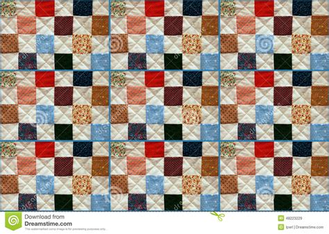 Patchwork Photo Quilt by Colorful Patchwork Quilt Stock Photo Image 48223229