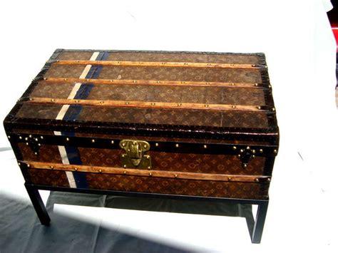 antique louis vuitton cabin trunk coffee table steamer