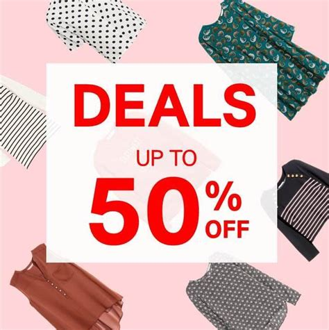An Hm Offer For All by H M Offer Up To 50 Promotion