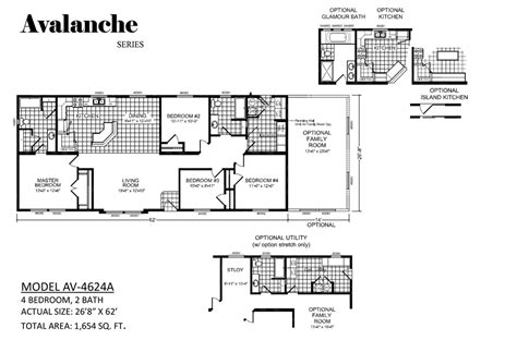 100 moduline homes floor plans 100 14x60 mobile