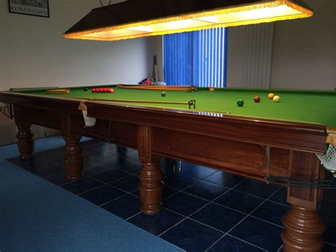 allied billiards size snooker table for sale great