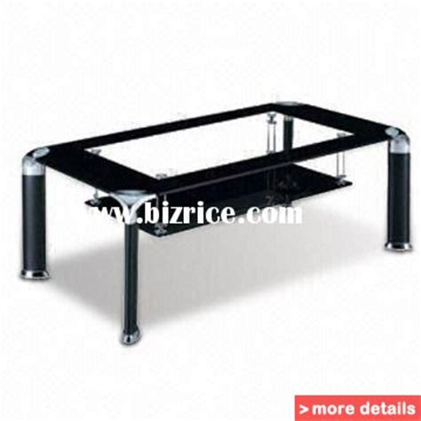 glass chrome table coffee modern coffee table rl 08