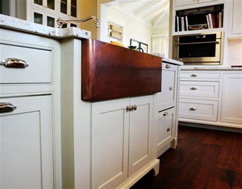 copper sink white cabinets 1000 images about cabinet hardware on pinterest white
