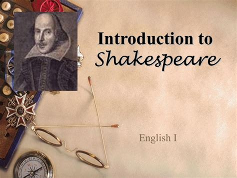 shakespeare powerpoint template shakespeare background info