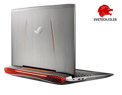 Asus Gaming Laptop Buy buy asus rog g752vs i7 gtx 1070 gaming laptop at evetech co za