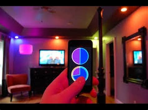 cool room lights youtube cool philips hue living room wireless mood lighting youtube