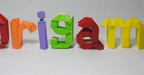 tutorial origami untuk pemula cara melipat kertas origami yang mudah untuk anak anak dan