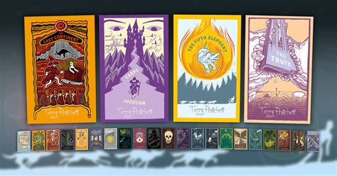 terry pratchetts discworld collectors discworld collector s library covers to continue discworld com