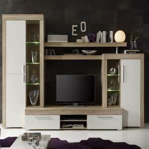 meuble tv bois chene clair artzein