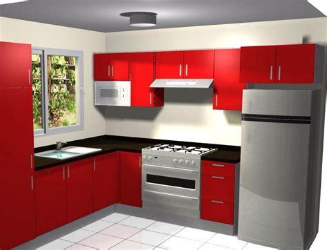 imagenes de cocinas integrales rojas cocina con mueble sobre refrigerador cocina pinterest