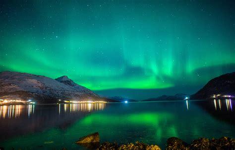 fjord of light tromso norway