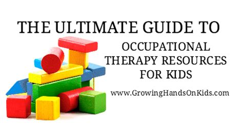 The Ultimate Guide To Resources by Occupational Therapy Resources For