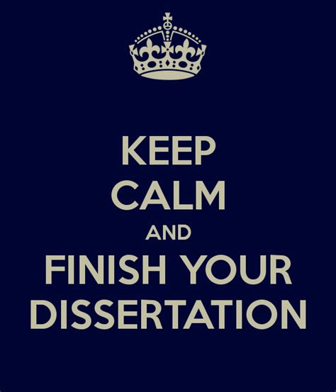 finish your dissertation once and for all the blue muse january 2013