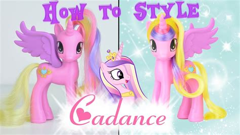 games haircut my little pony mlp princess cadance hair styling tutorial how to style my