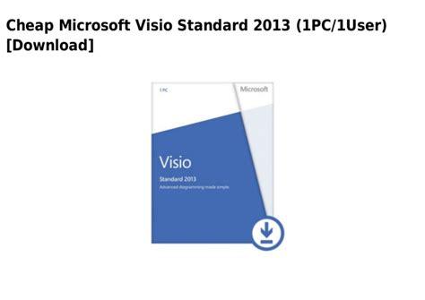 visio standard 2013 microsoft visio standard 2013 1 pc 1user