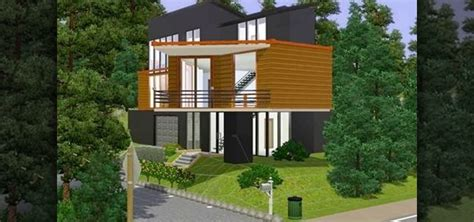 how to build a house how to build a replica of the house from twilight in sims