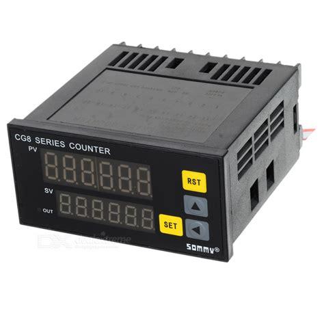 Digital Timer Ac Pln 220v Kontrol Listrik Pln 220v Atau Dc 12v 48v Ti cg8 digital counter ac 220v free shipping dealextreme