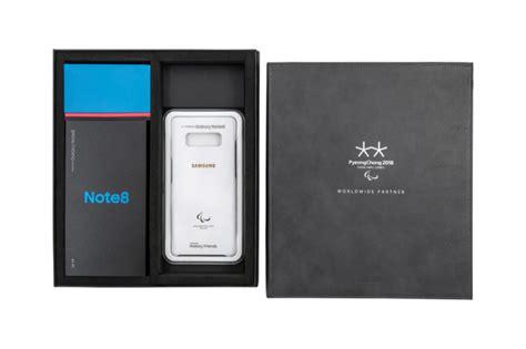 Samsung Note 8 Tahun 2018 Samsung To Out Limited Edition Galaxy Note 8 At Pyeongchang Paralympics Sammobile
