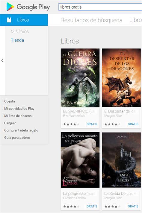 descargar libros gratis para google play books 12 webs para descargar libros gratis en espa 241 ol de forma legal acens blog