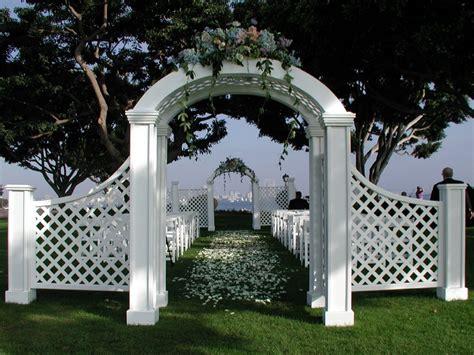 Garden Arch Rental Hahn Event Rental Arbors Arches View All