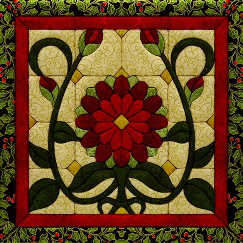 flower quilt magic kit 12 quot x12 quot jo