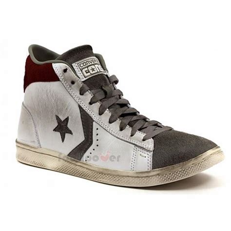 shoes converse pro leather lp mid leather suede 141611c