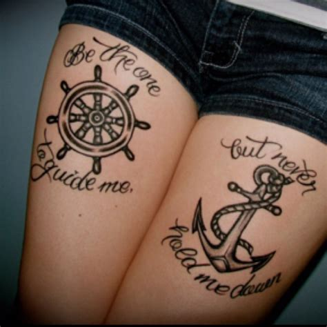 hold fast is an old sailor tattoo in danish it means bethesda one to guide me but never hold me down i m