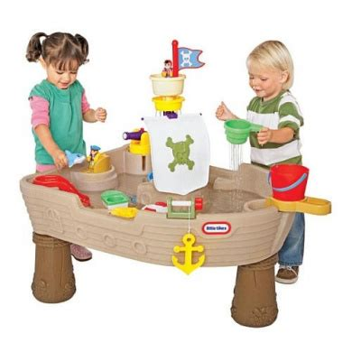 tikes anchors away pirate ship water play table tikes anchors away pirate ship water play by