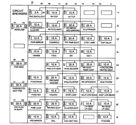 service manuals schematics 2000 oldsmobile bravada interior lighting oldsmobile silhouette questions where is the fuse located for a 2003 oldsmobile silhouette