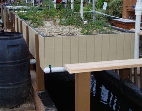 aquaponics grow bed aquaponics grow bed