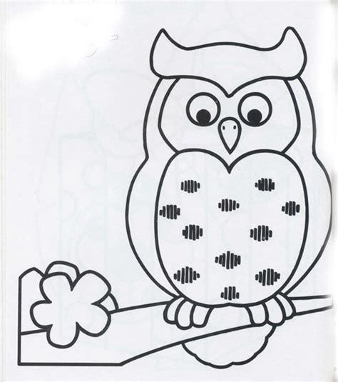 imagenes para pintar buhos buho para colorear infantil imagui