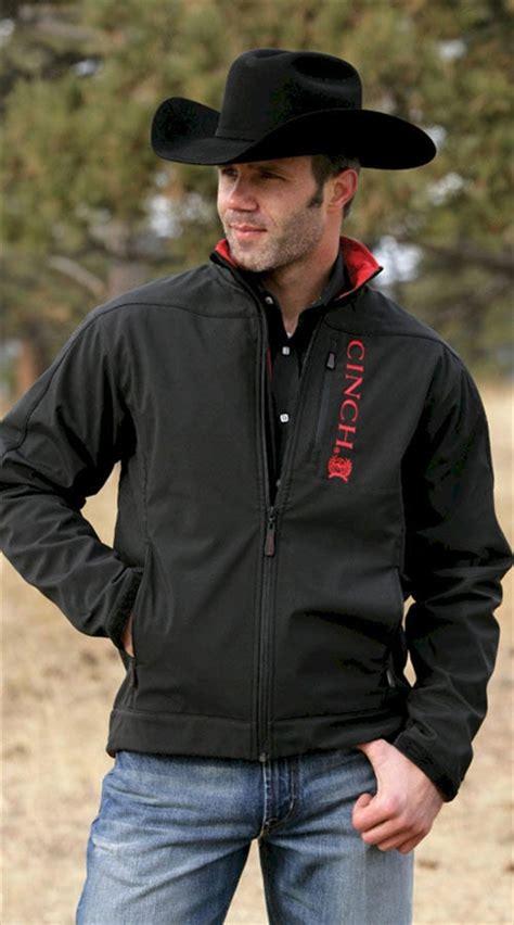 Comfortable Boots For Men Mens Cinch 174 Black Bonded Jacket