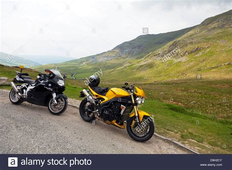 Triumph Motorrad London by Triumph Motorbike Uk Stockfotos Triumph Motorbike Uk