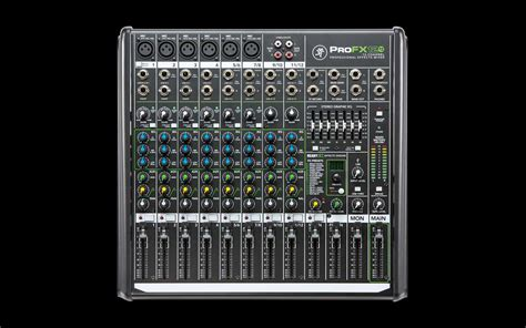 Mixer Fx Usb mackie profx12v2 12 channel professional effects mixer