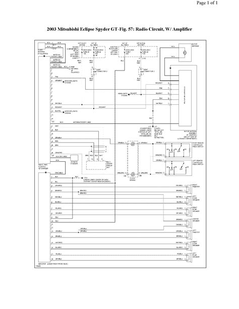 wiring diagram for 2003 mitsubishi lancer wiring get